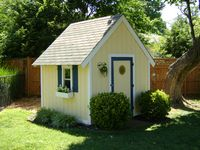 17 Best Images About Playhouse Turned Into Storage Shed On