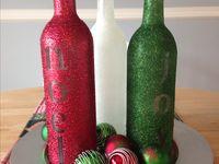 ideas for wine bottles