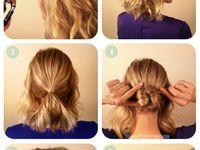 hair ideas (short & extensions)