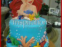 birthday little mermaid