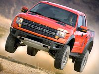 The SVT Raptor is a high-performance version of Ford's venerable F-150 pickup truck that is one of the most unique and capable off-road production vehicles ever made