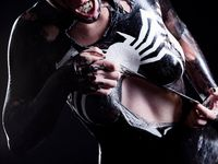Venom comics venom cosplay venom