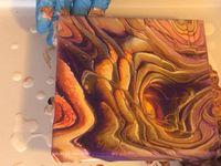 Pour Art  Board