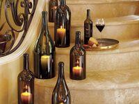 Decorating kithen in wine theme