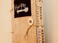 handmade recipe books