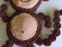 ... | Ninja Turtle Cupcakes, Flower Cupcake Cake and Pull Apart Cake