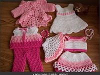 Crochet - doll clothes/toys
