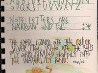 Letter Art Love & Lessons