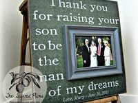Wedding Presents For Parents Ideas : gifts on Pinterest Wedding Gifts For Parents, Thank You Gifts and ...