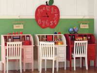 ideas for our homeschool room :)
