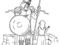 44 best church bible naaman images on pinterest for Naaman the leper coloring page