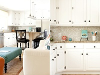 273 Best Granite With White Cabinets Images On Pinterest