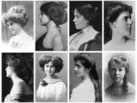 Victorian/Edwardian hairstyles
