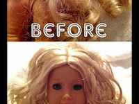 Doll Hair Styles and Care