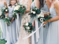 Bridesmaid styling choices