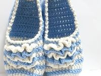 Zapatos, sandalias y pantuflas crochet