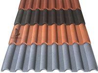Galvalume Aluminum Zinc Steel Materials Sand Stone Granules Coated Metal Sheet Corrugated Metal Roof Steel Material Sheet Metal Roofing