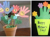 Actividades niños día de la madre
