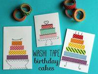 Kaelyn & auntie fun washi projects!! >>>