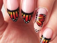 butterfly nails and beauty gallery by nded