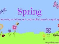 14 Best Spring Images Spring Activities Spring Crafts Art For Kids