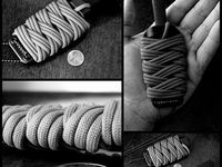 The practical & decorative uses for knots, braids,  weaves and various types of ropes and cordage (especially paracord).