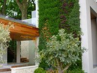 Green vertical walls