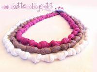 T Yarn Necklaces