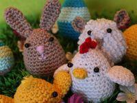 7 beste afbeeldingen over Pasen haken - breien op ...