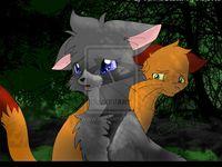 42 best cinderpelt/cinderpaw images  cats warrior cats