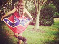 17 best images about rebel flag wedding dress on pinterest for Rebel flag wedding dresses