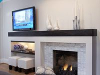 50th Pl On Pinterest Fireplaces Fireplace Mantels And Restoration Hardware