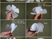 FLORES Feltro e Tecido (Flowers Felt and Fabric)