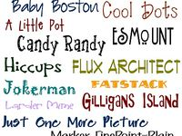 sites with free (hopefully) fonts they are sharing