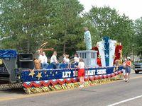 Amurica parade float