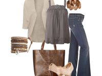 I wish this was my closet!  I have an obsession with clothes, shoes and jewelry...the whole outfit!