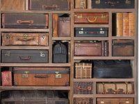Antique Trunks, Suitcases & Chest