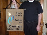 Baptismal Banner inspirations and how to posts