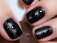 Black Nail Designs
