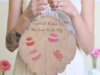 Shabby chic rustic guest books