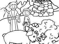 abraham and isaac coloring page - 25 best images about abraham and isaac on pinterest
