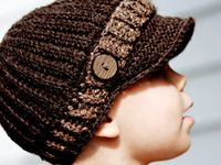 crafts--crochet/knit hats kids