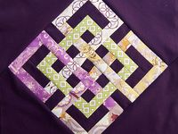 quilts--patterns, ideas & wishes / Ideas  sew a little