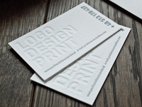Business cards / Identity