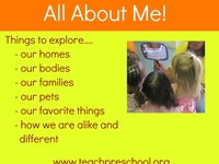 preschool all about me