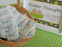 If I were to have or give a baby shower- my inspiration .