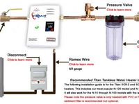 1000 images about titan tankless water heater installation on water heaters