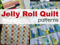 1000+ images about Charm squares, jelly rolls, & cake layer quilting on Pinterest Jelly roll ...