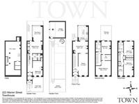 luxury floor plans nyc narrow lot floor plans ~ home plan and