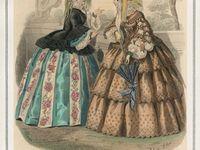 1850s - 1860s Dresses